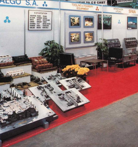 First presence at the American Fair CASTEXPO 82 (1982)